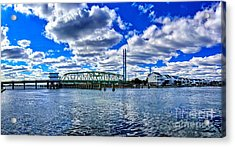 Swing Bridge Heaven Acrylic Print
