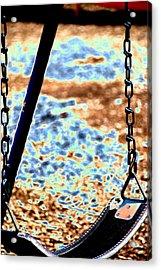 Swing Acrylic Print by Peter  McIntosh
