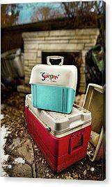 Swinger Cooler Acrylic Print by Yo Pedro