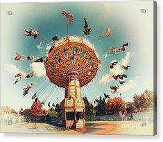 Swingin' Acrylic Print by Mark Miller