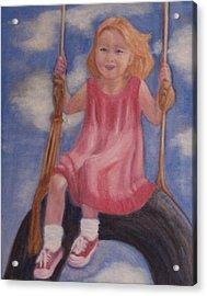 Swingin Acrylic Print by Patricia Ortman