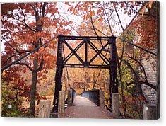 Swinging Bridge Acrylic Print
