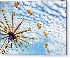 Swings On High Acrylic Print