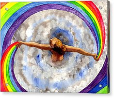 Swirl Acrylic Print by Catherine G McElroy