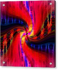 Acrylic Print featuring the photograph Swirl Delight by Cherie Duran