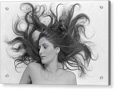 Swirl Girl Acrylic Print