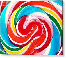 Swirl Of Happiness Acrylic Print by Jennifer Lauren