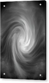 Swirl Wave Iv Acrylic Print by David Gordon