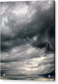 Swirling Clouds Acrylic Print by Stephen Doughten