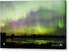 Acrylic Print featuring the photograph Swirling Curtains 2 by Larry Ricker