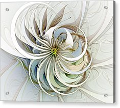 Swirling Petals Acrylic Print