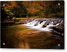 Swirlpool Acrylic Print
