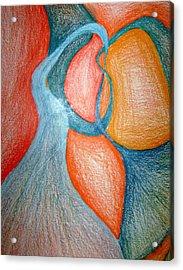 Swirly Opposites Acrylic Print