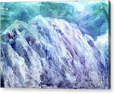 Swiss Alps - My Interpretation Acrylic Print