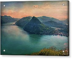 Acrylic Print featuring the photograph Swiss Rio by Hanny Heim