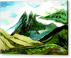 Switzerland Acrylic Print by Anil Nene