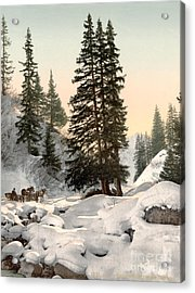 Switzerland: Davos, C1895 Acrylic Print by Granger