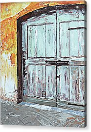 Switzerland Mint Door Acrylic Print