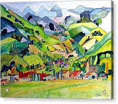 Switzerland Acrylic Print by Patricia Arroyo