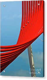 Acrylic Print featuring the photograph Swoosh by Jeff Loh
