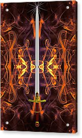 Sword Of Tomorrow Acrylic Print