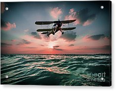 Swordfish Torpedo Bomber Acrylic Print