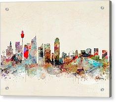 Acrylic Print featuring the painting Sydney Australia by Bri B
