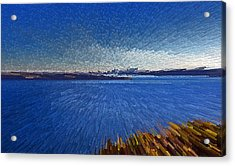 Sydney From North Head Acrylic Print