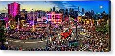Sydney Gay And Lesbian Mardi Gras Parade Acrylic Print