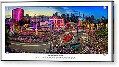 Sydney Gay And Lesbian Mardi Gras Parade Poster Print Acrylic Print