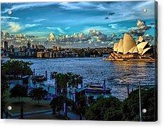 Sydney Harbor And Opera House Acrylic Print