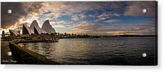 Acrylic Print featuring the photograph Sydney Harbor by Andrew Matwijec
