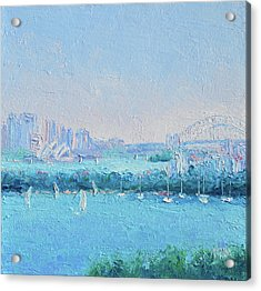 Sydney Harbour And The Opera House Acrylic Print