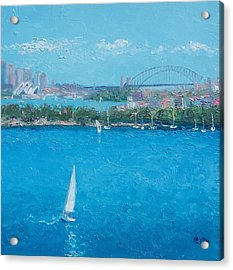 Sydney Harbour And The Opera House Vacation Acrylic Print