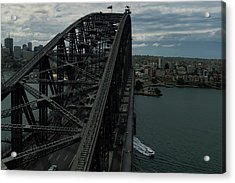 Sydney Harbour Bridge View From Tower Acrylic Print