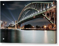 Sydney Harbour Lights Acrylic Print