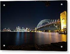 Sydney Harbour Silk Acrylic Print