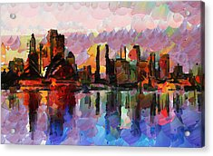 Sydney Here I Come Acrylic Print