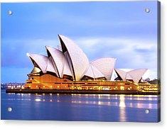 Sydney Opera House At Dawn Acrylic Print