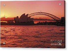 Sydney Opera House Acrylic Print by Bill Bachmann - Printscapes