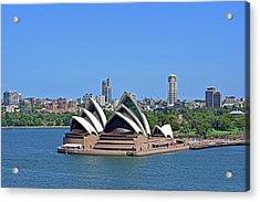 Sydney Opera House No. 17-1 Acrylic Print by Sandy Taylor