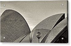 Sydney Opera House Roof Detail Acrylic Print