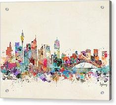 Sydney Skyline Australia Acrylic Print