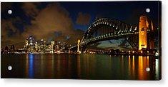 Sydney Skyline Acrylic Print by Melanie Viola