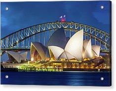 Sydney's Pearls Acrylic Print