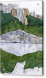 Sylvan Lake Acrylic Print by Heather Ahrens