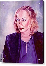 Sylvia Schneider Acrylic Print by John Keaton