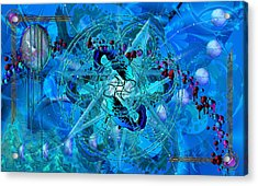 Symagery 34 Acrylic Print by Kenneth Armand Johnson