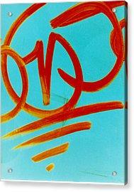 Symbols Acrylic Print by David Rivas