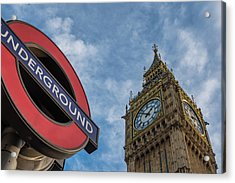 Symbols Of London Acrylic Print by Marius Comanescu